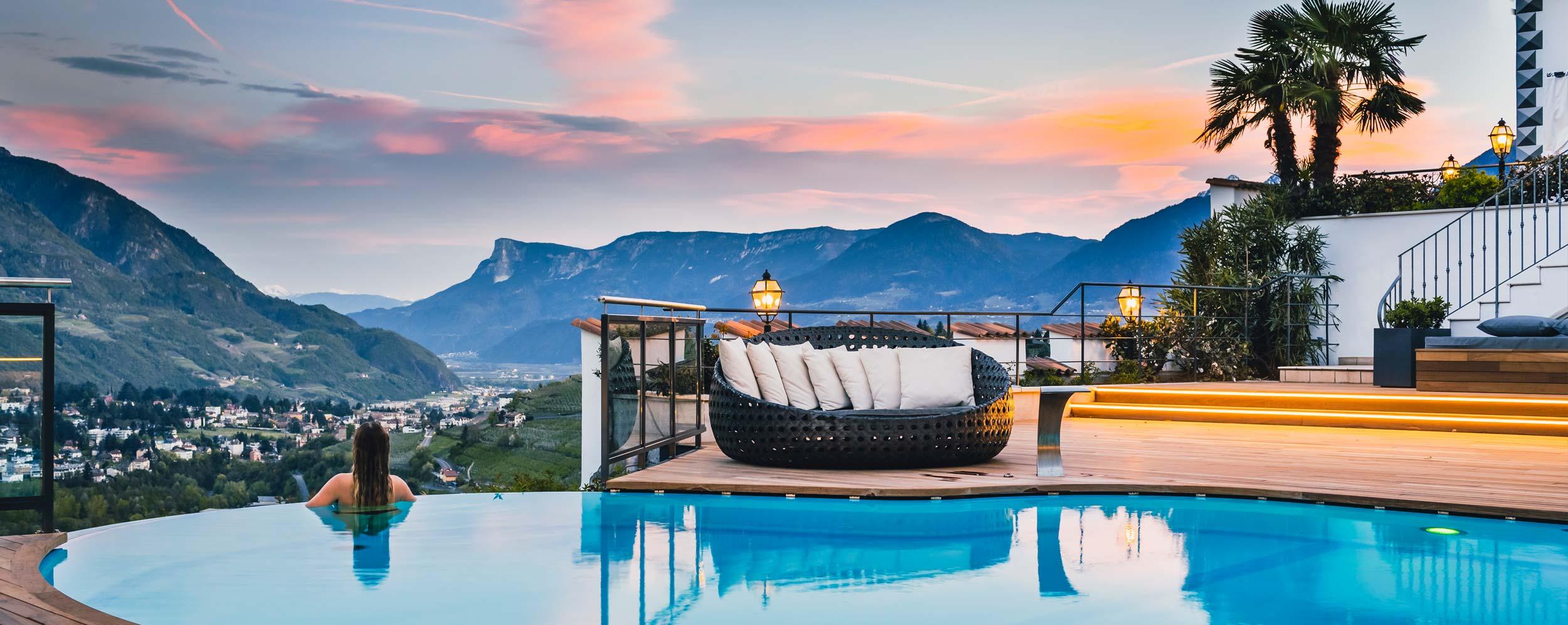 Die Schonsten Hotels In Dorf Tirol Bei Meran Sudtirol